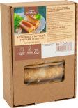 Блинчики ВкусВилл с курицей грибами и сыром замороженные 380г