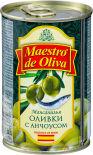 Оливки Maestro de Oliva с анчоусом 300г