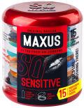 Презервативы Maxus Sensitive ультратонкие 15шт