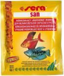 Корм для рыб Sera San основной для улучшения окраски 10г