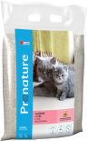 Наполнитель для кошачьего туалета Pronature комкующийся с ароматом детской присыпки 12кг