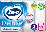Туалетная бумага Zewa Deluxe 12 рулона 3 слоя в ассортименте