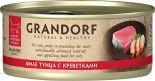 Корм для кошек Grandorf Филе тунца с креветками 70г