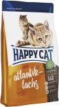 Сухой корм для взрослых кошек Happy Cat Лосось 1.4кг