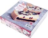 Торт Juniors Брусничный с белым шоколадом замороженный 800г