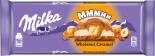 Шоколад Milka Wholenut Caramel Молочный с фундуком и карамелью 300г