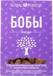 Какао бобы Royal Forest необжаренные неочищенные 100г