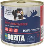 Корм для собак Bozita Beef мясной паштет с говядиной 625г
