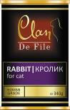 Корм для кошек Clan De File Кролик 340г