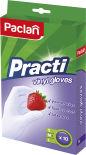 Перчатки виниловые Paclan Practi размер М 10шт