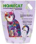 Наполнитель для кошачьего туалета Homecat Лаванда 7.6л