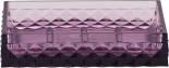 Мыльница Swensa Rapas фиолетовая