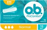 Тампоны O.B. ProComfort Normal 16шт
