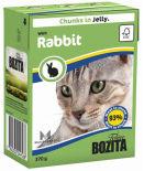 Корм для кошек Bozita Кусочки в желе с кроликом 370г