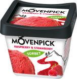 Мороженое Movenpick Raspberry & Strawberry 900мл