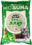 Наполнитель для кошачьего туалета Neo Loo Life комкующийся с экстрактом зеленого чая 6л