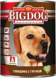 Корм для собак Зоогурман Big Dog balanced Говядина с гречкой 850г