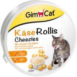 Лакомство для кошек GimCat Сырные ролики 200г