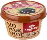 Мороженое молочное У Палыча со вкусом черной смородины 100г