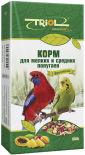 Корм для птиц Triol Криспи для мелких и средних попугаев 500г