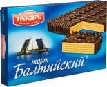 Вафельный торт Пекарь Балтийский 320г