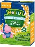 Каша Heinz Пшеничная молочная с Омега 3 200мл