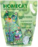 Наполнитель для кошачьего туалета Homecat Яблоко 3.8л