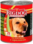 Корм для собак Зоогурман Big Dog Телятина с кроликом 850г