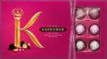 Набор конфет Коркунов Ассорти из темного и молочного шоколада 192г