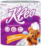 Бумажные полотенца Kleo Decor 2 рулона 2 слоя