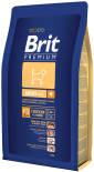 Сухой корм для собак Brit Premium Adult Medium с курицей 3кг