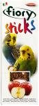 Лакомство для птиц Fiory палочки для попугаев с яблоком 2шт*30г
