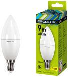 Лампа светодиодная Ergolux LED E14 9Вт