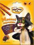 Лакомство для кошек Мнямс Мясной карнавал индейка ягненок 3шт*4г