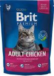Сухой корм для кошек Brit Premium С куриной печенью 1.5кг