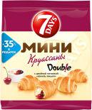Мини-круассаны 7 Days Double Ваниль-Вишня 300г