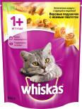 Сухой корм для кошек Whiskas Вкусные подушечки с паштетом Ассорти с курицей и индейкой 800г