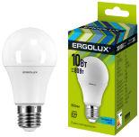 Лампа светодиодная Ergolux LED E27 10Вт