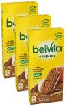 Печенье Belvita Утреннее со злаками какао и йогуртовой начинкой 253г