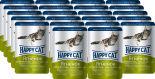 Корм для кошек Happy Cat Ягненок и Телятина с зеленой фасолью в желе 100г