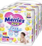 Подгузники-трусики Merries M 6-11кг 64шт