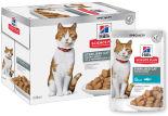 Влажный корм для стерилизованных кошек и кастрированных котов Hills Science Plan Sterilised Cat с форелью 85г