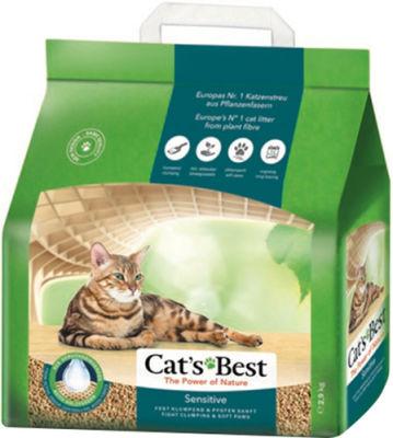 Наполнитель для кошачьего туалета Cats Best Sensitive древесный 8л