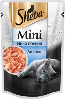 Корм для кошек Sheba с Лососем 50г