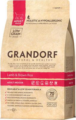 Сухой корм для кошек Grandorf Adult Ягненок с рисом 400г