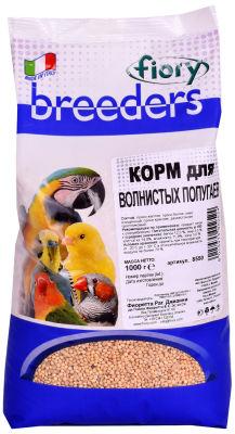 Корм для птиц Fiory Breeders для волнистых попугаев 1кг
