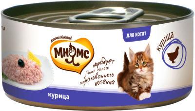 Корм для котят Мнямс Курица в нежном желе 70г