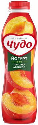 Йогурт питьевой Чудо Персик-абрикос 2.4% 690мл