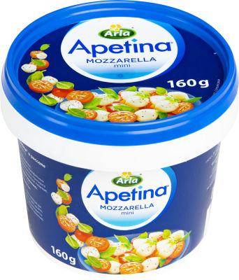 Сыр Arla Apetina Mozzarella mini 45% 160г