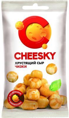 Сыр Cheesky хрустящий 30% 22г